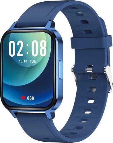 Умные часы Bakeey Q18, синий фото
