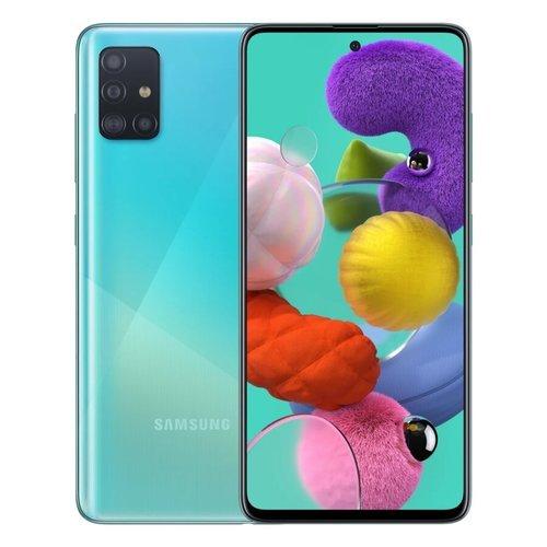 Смартфон Samsung (A515F) Galaxy A51 64Gb Синий фото