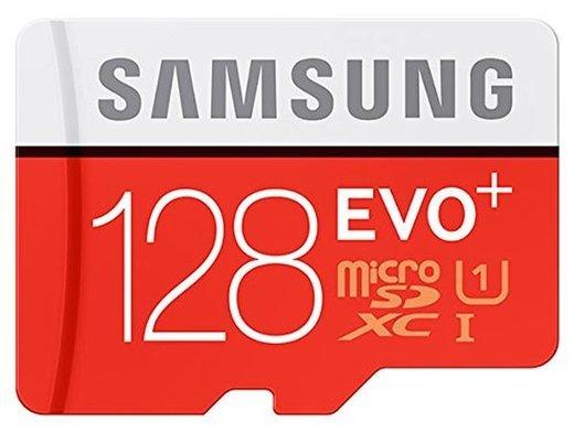 Карта памяти Samsung microSDXC Evo Plus Class 10 UHS-I U1 (100/60MB/s) 128GB + ADP фото