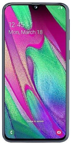 Смартфон Samsung (A405F) Galaxy A40 Черный фото