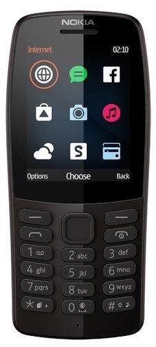 Мобильный телефон Nokia 210 Dual Sim Черный фото