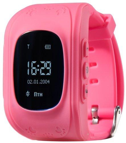 Детские умные часы Prolike PLSW50PK, розовые фото