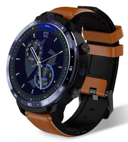 Умные часы Lemfo Lem12 Pro 4/64Gb, коричневый фото