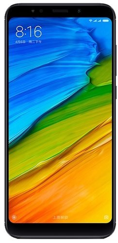 Смартфон Xiaomi RedMi 5 Plus 4/64Gb Black (Черный) фото