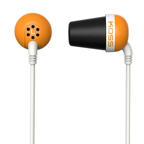 Наушники Koss The Plug оранжевый фото