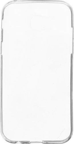 Чехол для смартфона Samsung Galaxy A80 Silicone iBox Crystal (прозрачный), Redline фото
