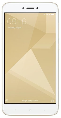 Смартфон Xiaomi RedMi 4X 32Gb Gold фото