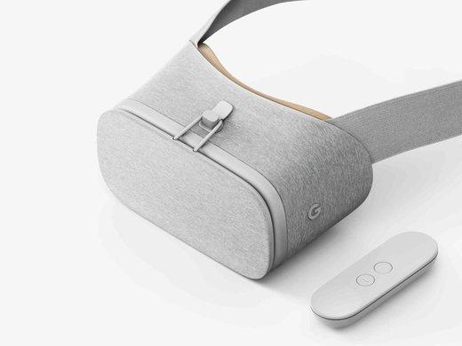Очки виртуальной реальности Google Daydream View, белые фото