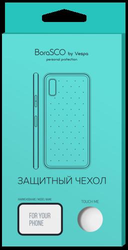 Чехол для смартфона Samsung Galaxy S9 силиконовый прозрачный, BoraSCO фото