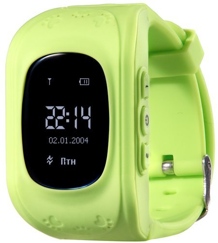 Детские умные часы Prolike PLSW50GR, зеленые фото