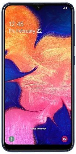 Смартфон Samsung (A105F) Galaxy A10 Синий фото