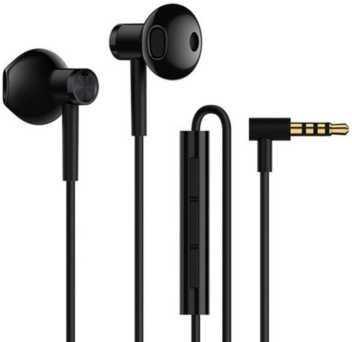 Наушники Xiaomi Mi Dual-Unit Earphones, черный фото