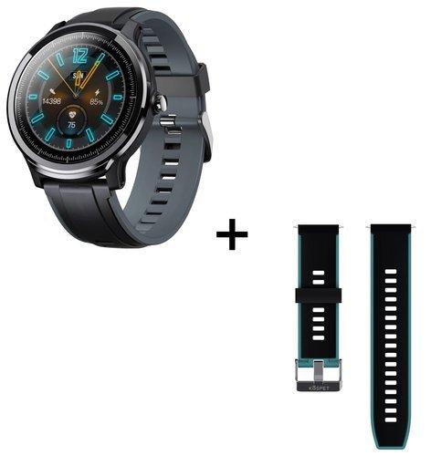 Умные часы Kospet Probe, водонепроницаемые, зеленый/серый фото