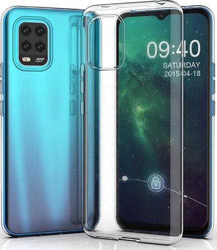 Чехол для смартфона Xiaomi Mi10 Lite Silicone iBox Crystal (прозрачный), Redline фото
