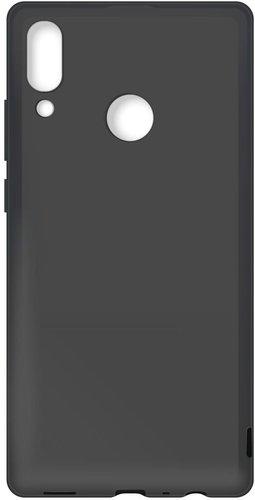 Чехол для смартфона Huawei P Smart (2019)/Honor 10 Lite силиконовый (черный), BoraSco фото