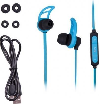 Наушники Ritmix RH-400BTH синие фото