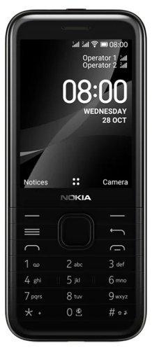 Мобильный телефон Nokia 8000 4G Черный фото