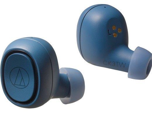 Наушники Audio-Technica ATH-CK3TW, синий фото