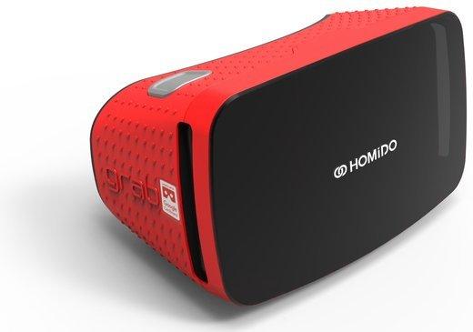 Очки виртуальной реальности Homido Grab красные фото