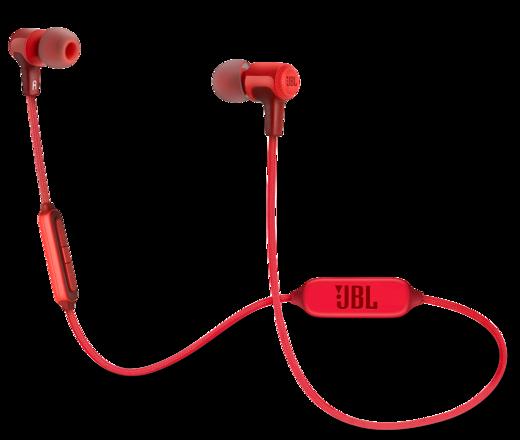 Наушники JBL E25BT, красный фото