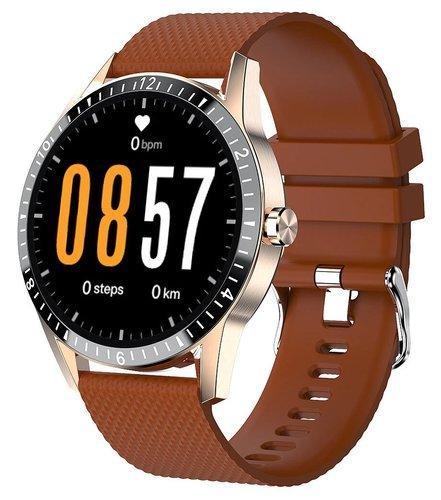 Умные часы Bakeey Y20, коричневый фото