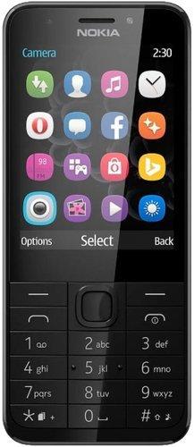 Мобильный телефон Nokia 230 Dual Sim Черно-серый фото