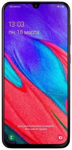 Смартфон Samsung (A405F) Galaxy A40 Красный фото