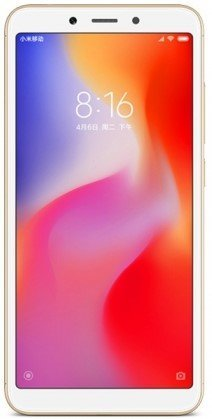 Смартфон Xiaomi RedMi 6A 2/16Gb Gold (Золотистый) EU фото