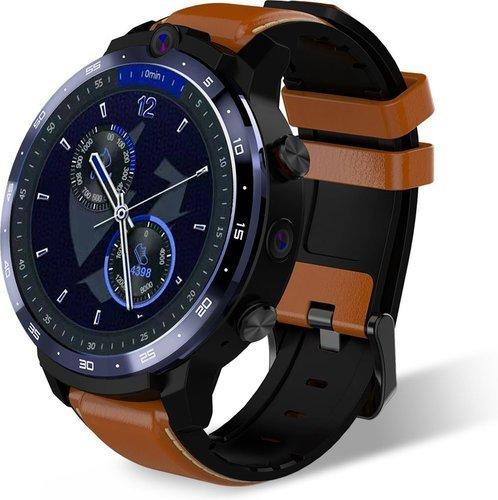 Умные часы Lemfo Lem12 3/32Gb, коричневый фото