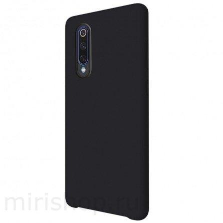 Чехол для смартфона Xiaomi Mi9 SE силиконовый (матовый) черный, BoraSCO фото