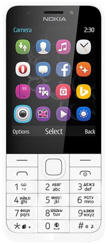 Мобильный телефон Nokia 230 Dual Sim Серебристый фото