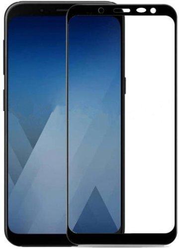 Защитное стекло для Samsung Galaxy J4 (2018) Full Screen черный, TFN фото
