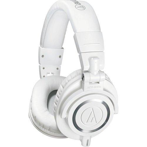 Наушники Audio-Technica ATH-M50X, белый фото