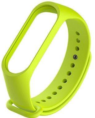 Ремешок для браслета Mi Band 3, зелёный фото