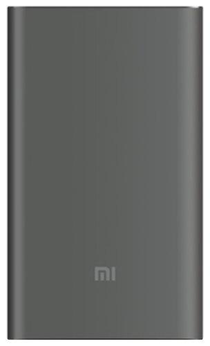 Внешний аккумулятор Xiaomi Mi Power Bank Pro 10000 mah Quick Charge серый фото