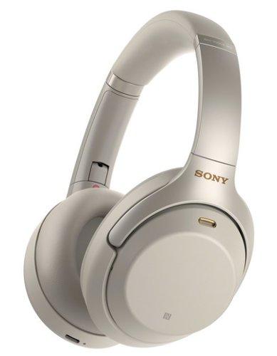 Наушники Sony WH-1000XM3, серебристый фото