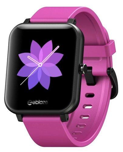 """Умные часы Zeblaze GTS 1.54"""", фиолетовый фото"""