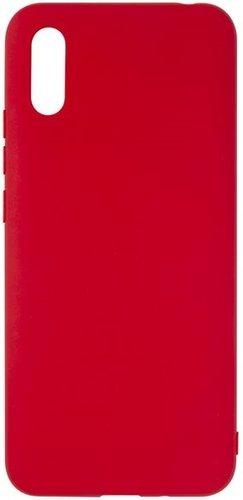 Чехол-накладка для Xiaomi Redmi 9A, красный, Redline фото