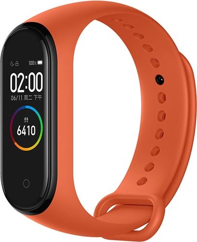 Фитнес браслет Xiaomi Mi Band 4 оранжевый фото