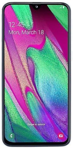 Смартфон Samsung (A405F) Galaxy A40 Белый фото