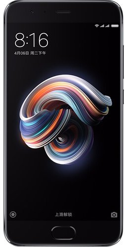 Смартфон Xiaomi Mi Note 3 (6GB/128GB) Black (Черный) фото