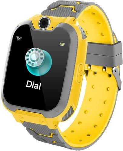 """Детские умные часы Bakeey S11 1.54"""", желтый фото"""