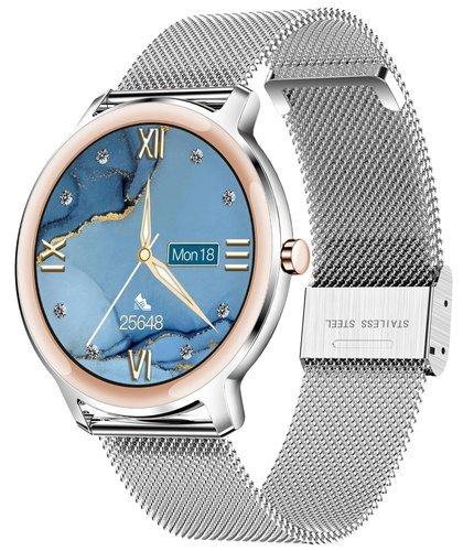Умные часы Newwear R18 7.3 мм, серебристый фото