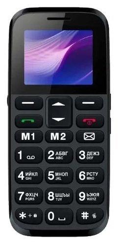 Мобильный телефон Vertex C313 Черно-синий фото