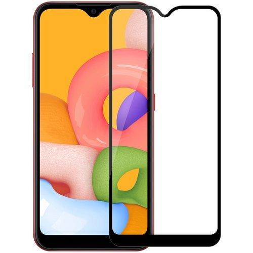 Защитное стекло для Samsung Galaxy A01 Full Screen черный, Redline фото