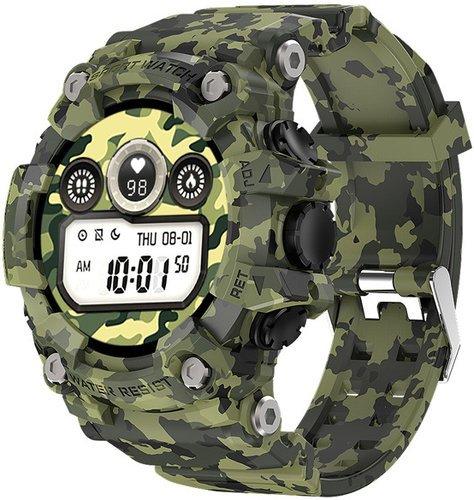 Умные часы Bakeey T6, зеленый фото