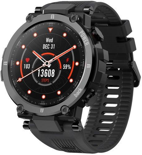 Умные часы Kospet Raptor, водонепроницаемые, черный фото