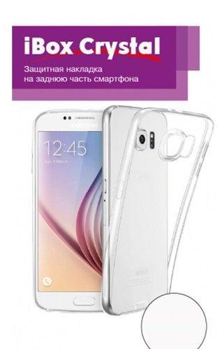 Чехол для смартфона Huawei Y7 2019 Silicone iBox Crystal (прозрачный), Redline фото