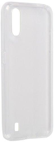 Чехол для смартфона Samsung Galaxy A01 Silicone iBox Crystal (прозрачный), Redline фото