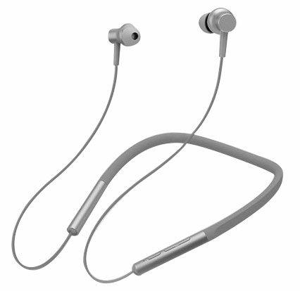 Наушники Xiaomi Mi Collar Bluetooth Headset, серый фото